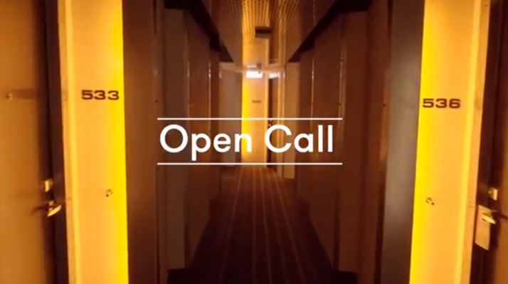 Open Call works-in-progress